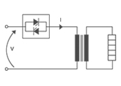 SiC Elements on Secondary of 1PH Transformer