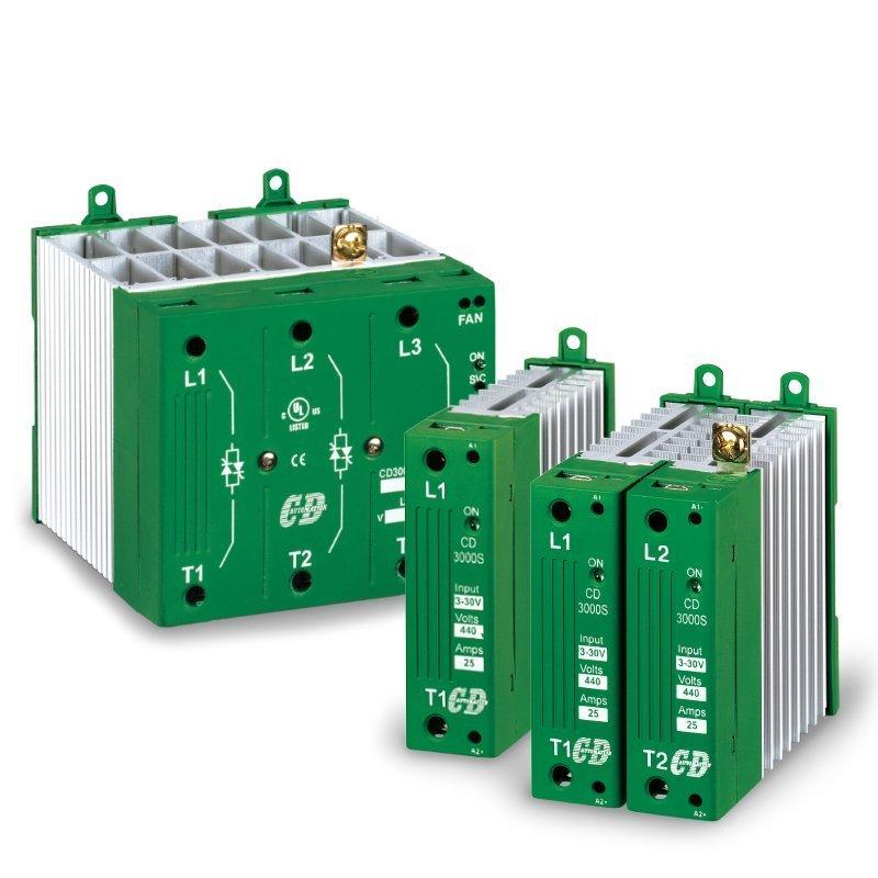 Thyristor Power Controller three phase two legs