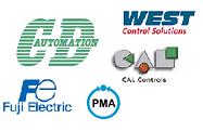 Loghi dei Marchi che CD Automation vende come Termoregolatori Industriali