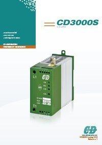 immagine della cover del catalogo della famiglia CD3000 S