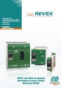 immagine della cover del catalogo della famiglia REVEX
