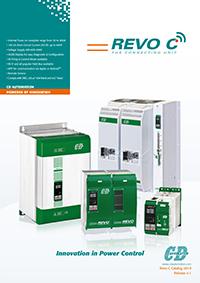 immagine della cover del catalogo della famiglia REVO C