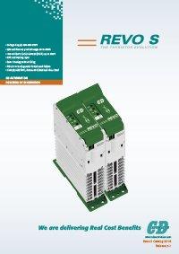 immagine della cover del catalogo della famiglia REVO S