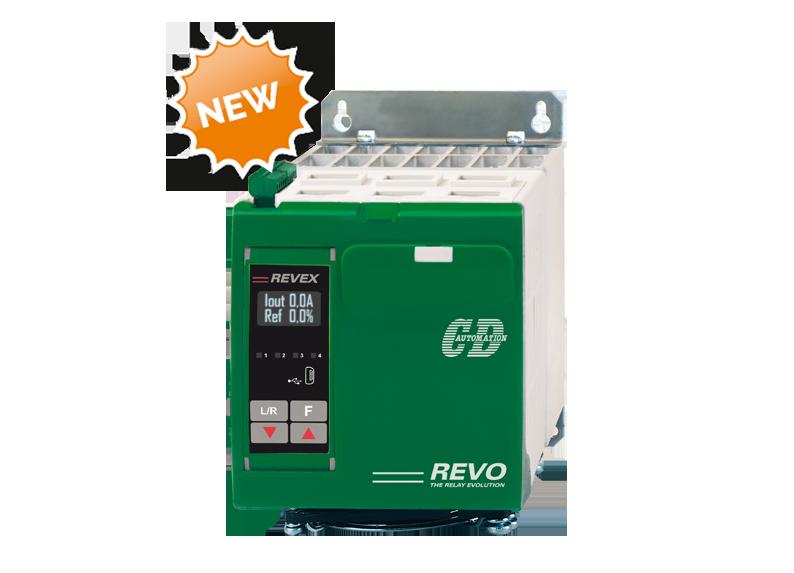 El controlador de potencia REVEX PA es el último producto de la familia REVEX de CD Automation.
