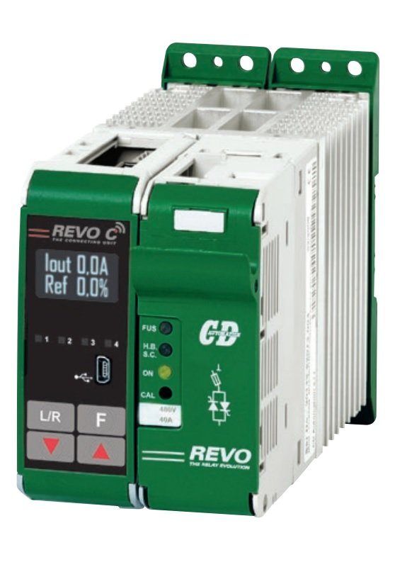 REVO C one phase connection scheme
