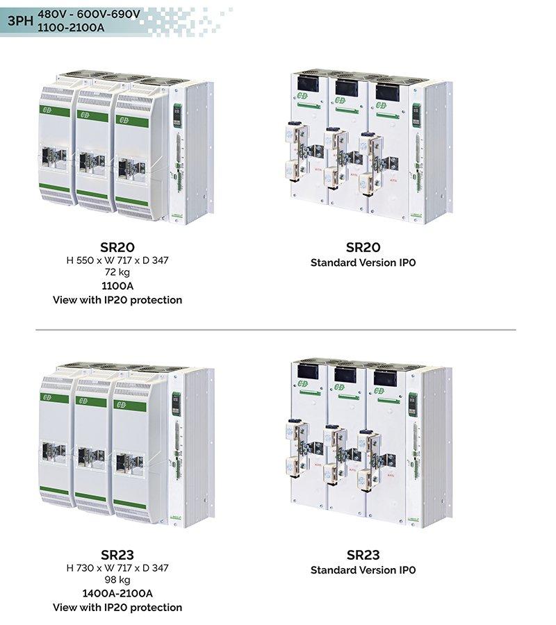 Size REVO C 3PH 1100A-2100A