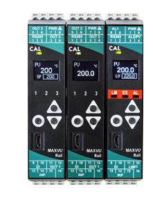 Regolatore di Temperatura Max VU Rail - Immagine lato testo